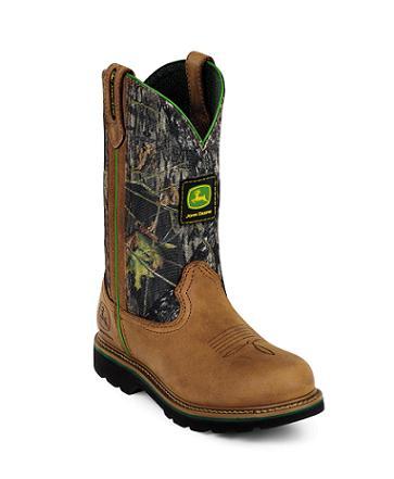 Mossy Oak John Deere Boots