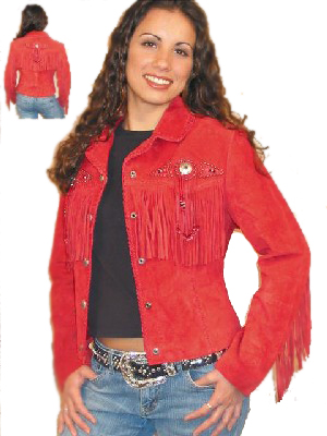 Scully Leather Coat Fawn Red