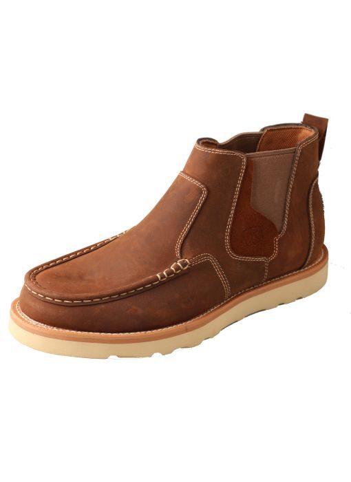 Men's Casual Shoe – Oiled Saddle
