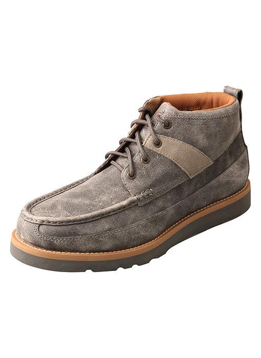 """Men's 4"""" Wedge Sole Boot Grey"""