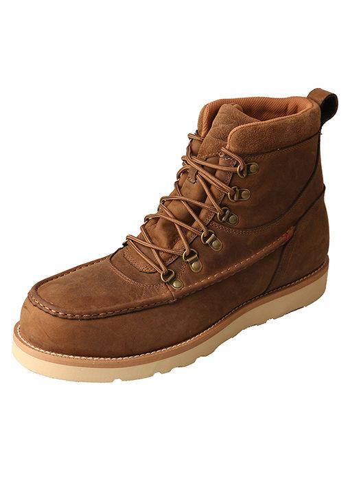 Men's Casual Shoe – Distressed Saddle – Alloy Toe|Waterproof
