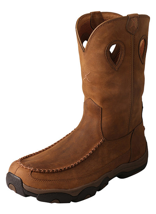 Men's Hiker Boot – Distressed Saddle/Saddle – Composite Toe|Waterproof