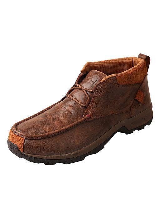 Men's Hiker Shoe – Brown – Waterproof