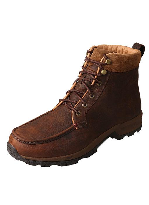 Men's Hiker Shoe – Dark Brown – Waterproof