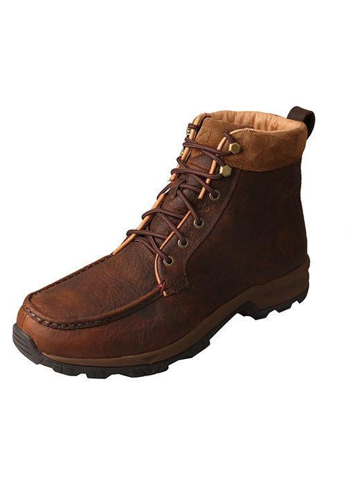 """Men's Casual Work Hiker D Toe 6"""" – Dark Brown"""