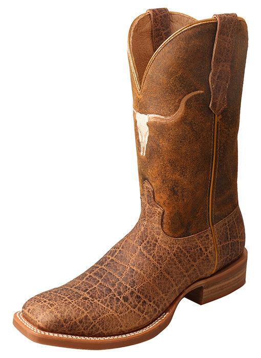 Men's Rancher Boot – Saddle Elephant Print