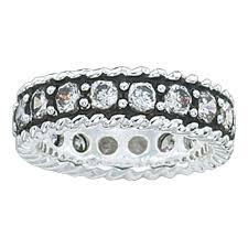 Crystal Shine Band Ring (RG10CZ)