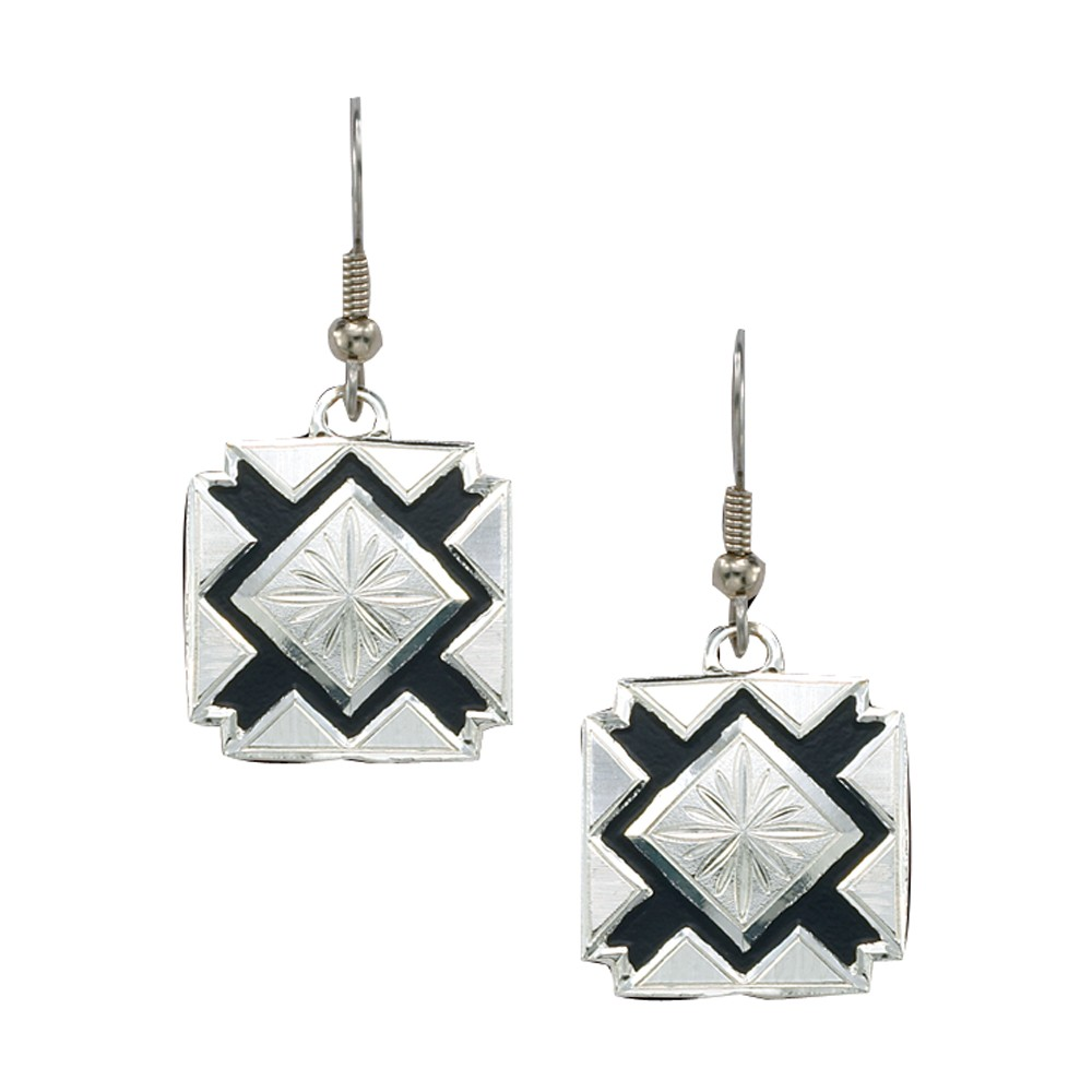 Four Points Dangling Earrings (ER1126)