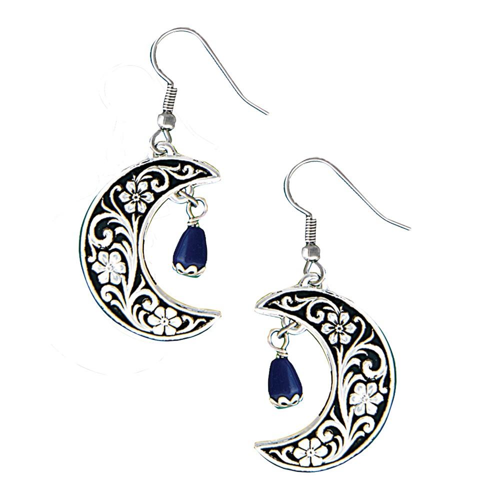 Half Moon Treasure Earrings (ER1314)