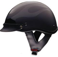 Flat Black Shorty Helmet