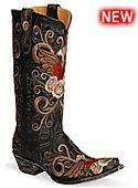 Womens Old Gringo Boots Grace Black
