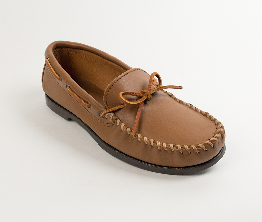 Men's Maple Leather Classic Camp Moccasin