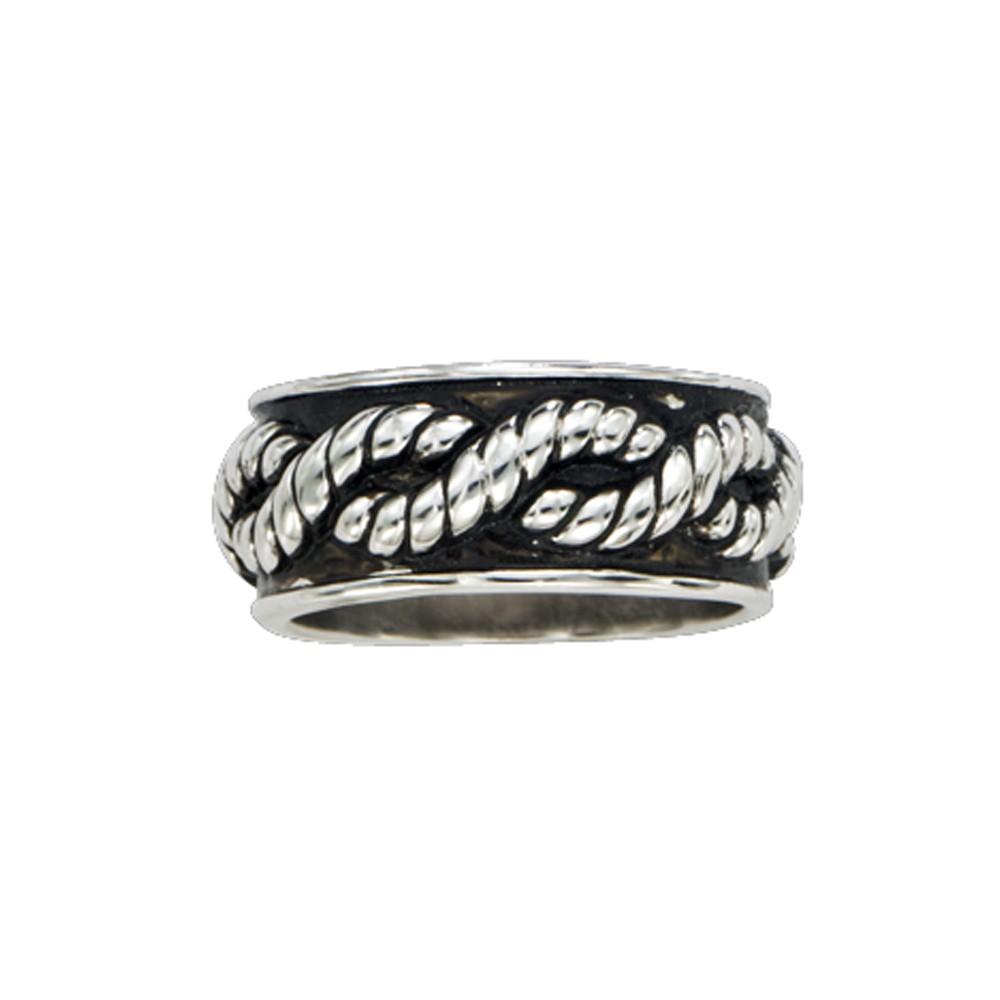 Braided Rope Band Ring (RG43)