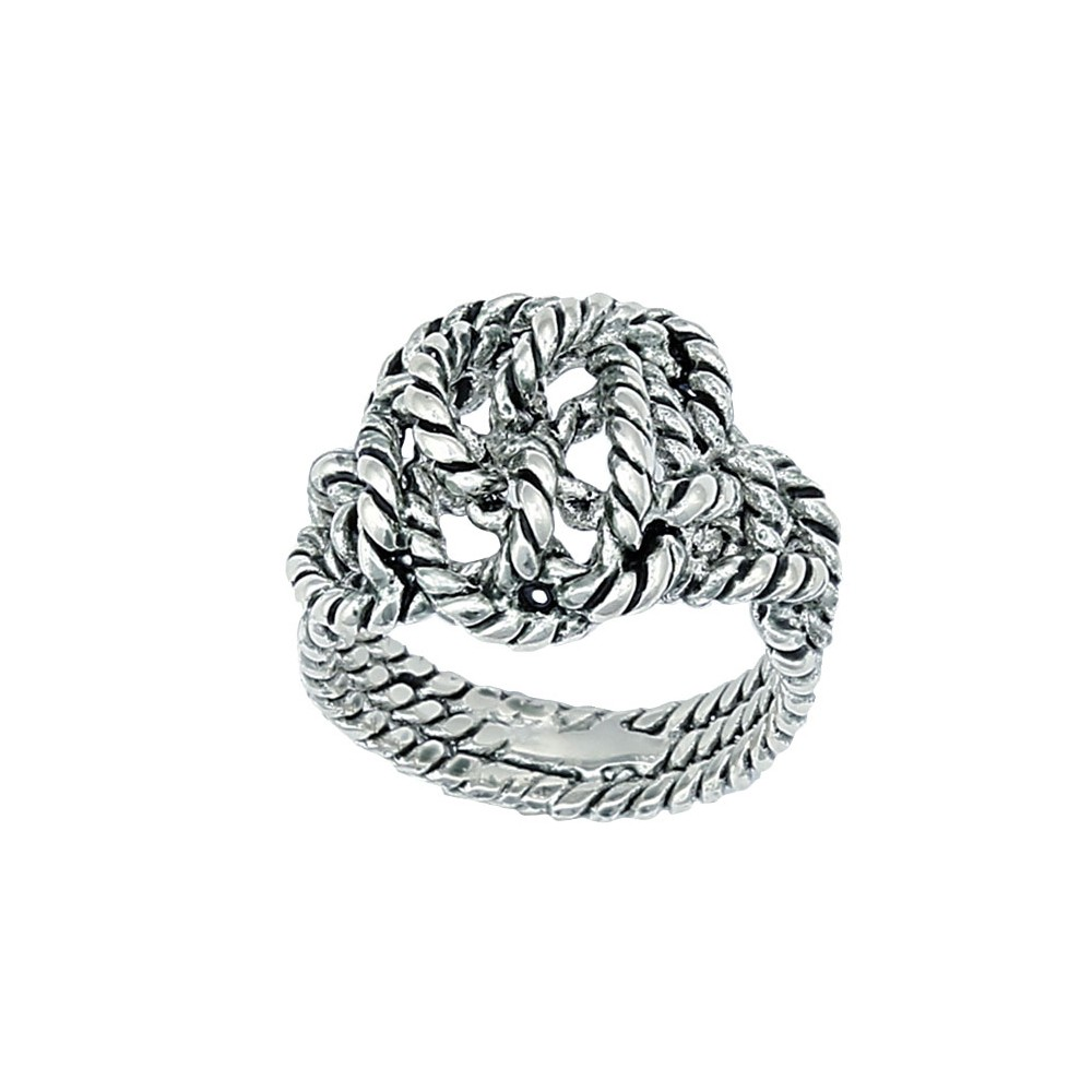 Cowgirl Bling Knotted Rope Ring (RG57)