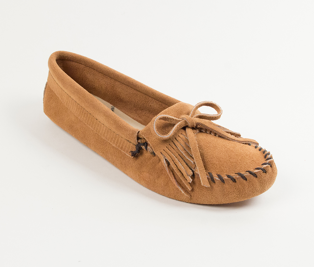 Kilty Suede Moc Softsole Taupe
