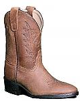 Pocono Childrens Boots in Walnut Brown Leather