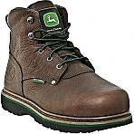 """Womens John Deere 6"""" Steel Toe Internal Met Guard Lace-Up"""