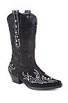 Children's Roper Black Faux Leather Fashion Boot