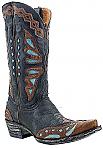 Womens Old Gringo Boots Monarcha Black