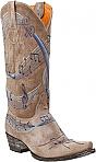 Womens Old Gringo Boots Violina Tan