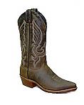 Abilene Men's Olive Brown Cowboy Boot