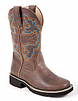 Children's Roper Brown Faux Pull-Up Boot